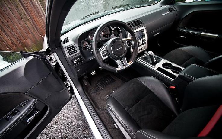 2012 Dodge Challenger SRT8 392 Front Interior