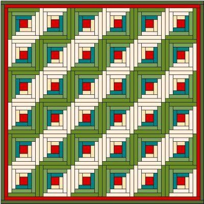87 best Изба-квилт images on Pinterest : log cabin quilt block layouts - Adamdwight.com