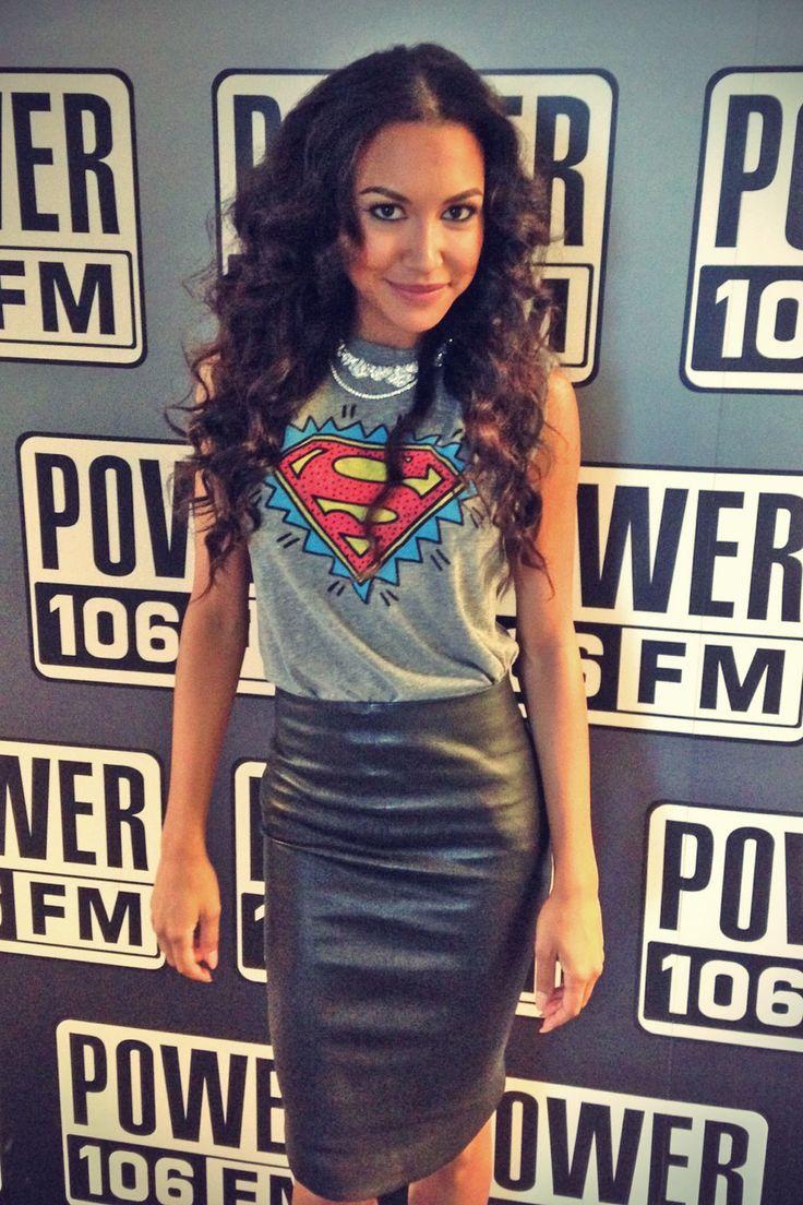 Naya Rivera on Power 106 FM in LA l