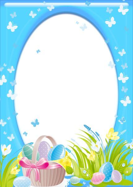 Easter Transparent PNG Frame