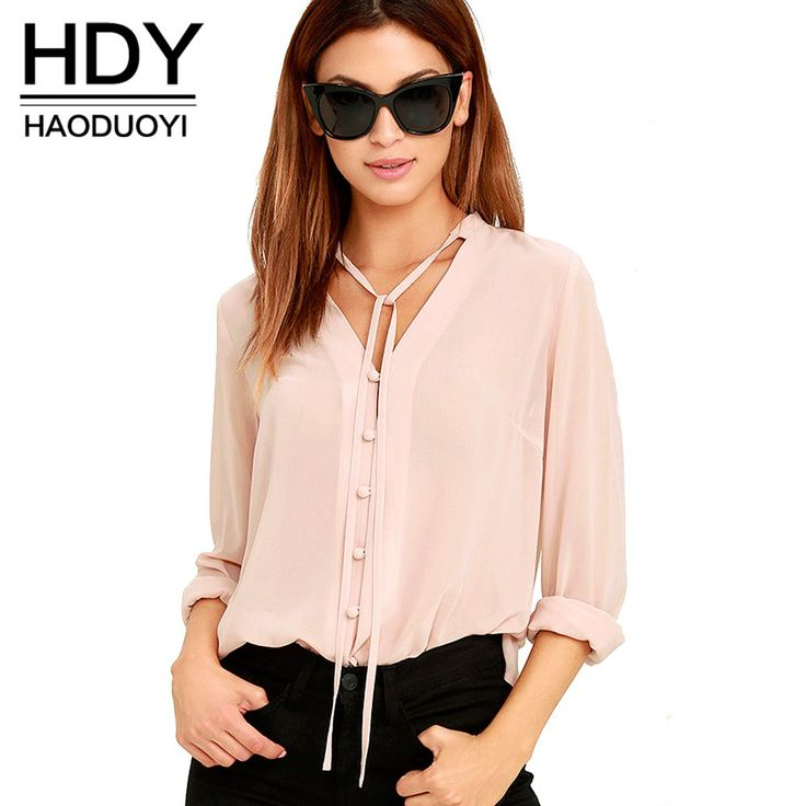 Like and Share if you want this  HDY Haoduoyi Solid Color Fashion Women Shirts Single Breasted V Neck Long Sleeve Blouse Casual Brief Style Female Chiffon Shirt     Tag a friend who would love this!     FREE Shipping Worldwide     Get it here ---> https://onesourcetrendz.com/shop/all-categories/womens-clothing/womens-blouses/hdy-haoduoyi-solid-color-fashion-women-shirts-single-breasted-v-neck-long-sleeve-blouse-casual-brief-style-female-chiffon-shirt/