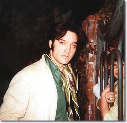 Nov. 1968: Elvis at his gate with his fans in Bel Air. A huge moment for him: the NBC special would air the following month and put him back on top. He was tremendously anxious about it.