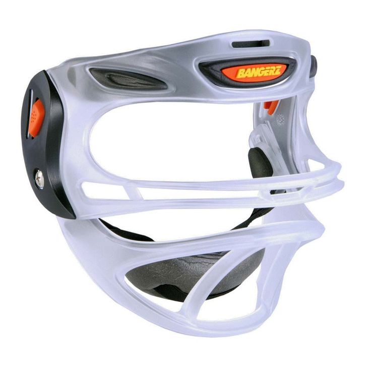 Bangerz® Fully Adjustable CLEAR Baseball / Softball Sports Safety Mask: The Bangerz® Sports… #SportingGoods #SportsJerseys #SportsEquipment