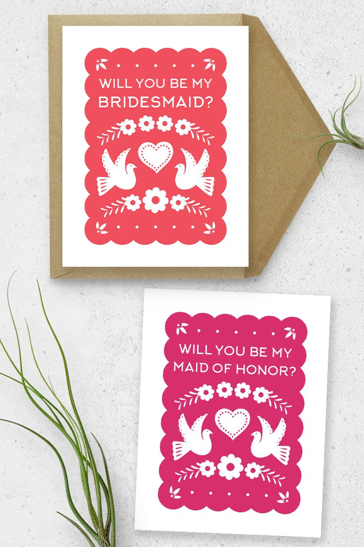 Gorgeous papel picado style cards with a classic dove and floral ...