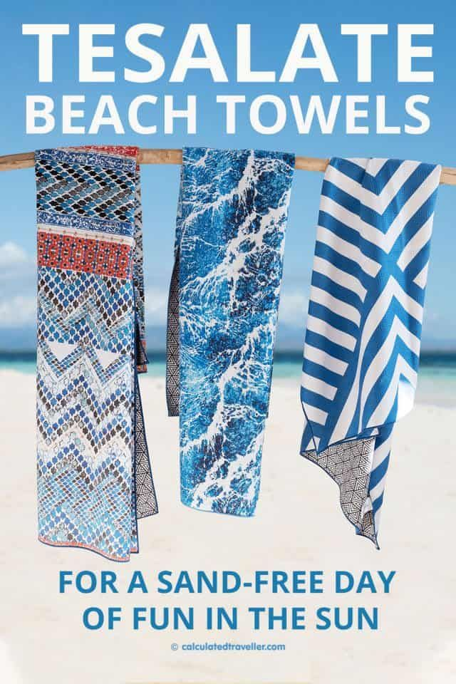 Tesalate Beach Towel For A Sand Free Day Of Fun In The Sun Travelling Tips Travel Must Haves Travel Essentials