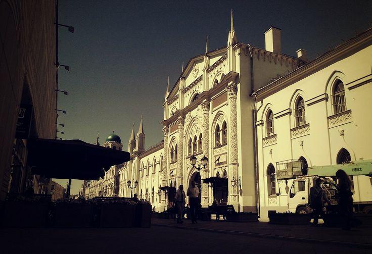 LomoMoscow: Никольская улица