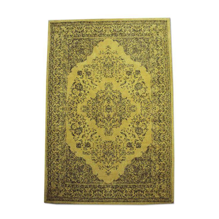 Carpet Medallion - yellow