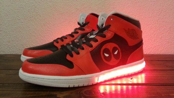Women's Light Up Marvel Shoes by KickolasNage on Etsy