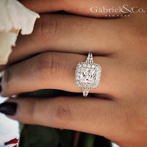 115 best Gabriel Co Engagement Rings images on Pinterest Rings