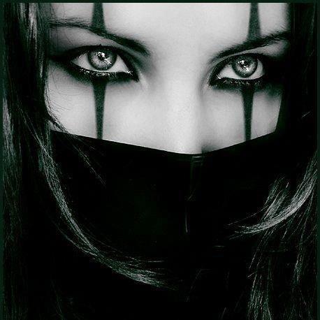 great inspiration for a Halloween costume. #Ninja