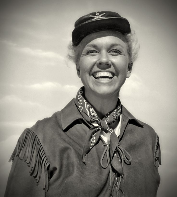 Doris Day as Calamity Jane (1953), a movie most all older and mid age range Boomers grew up seeing and loving.