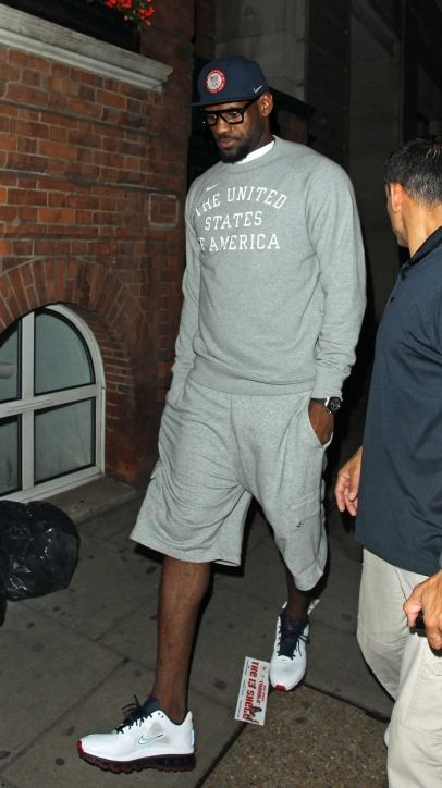 Players from the London 2012 Olympic USA Basketball team are seen here clubbing until 3am at the Funky Buddha night club In Mayfair, London. Lebron James was at the club with his fellow team mates James Harden, Chris Paul, Kevin Durant, Russell Westbrook, Carmelo Anthony.