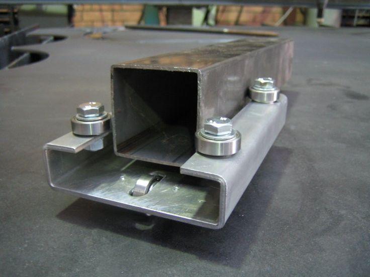 Tubo rectangular abierto de hierro galvanizado www.vidalgonzalez.com