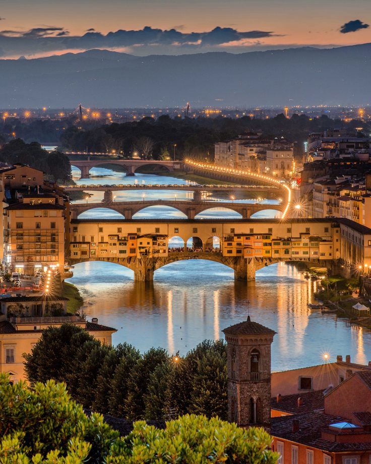 A visitor's guide to Florence, Italy.                              Beautiful, Beautiful Florence… The Ponti Vecchio Bridge, walked this many .,many times.