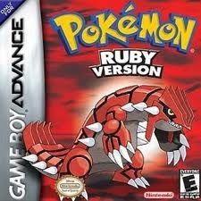 Pokemon Ruby Version - Game Boy Advance Game