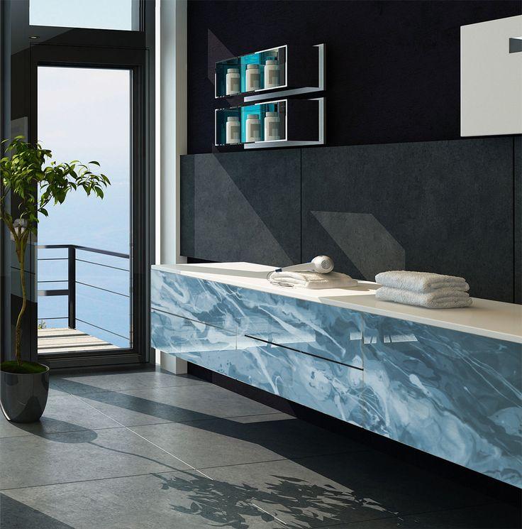 Handmade Epoxy Furniture panels.