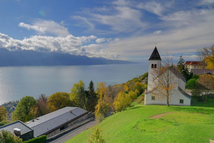 At Mont Pèlerin, above Vevey, Switzerland.