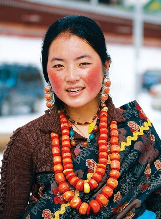 Well Dressed Amdo Tibetan | I Am Woman | Pinterest