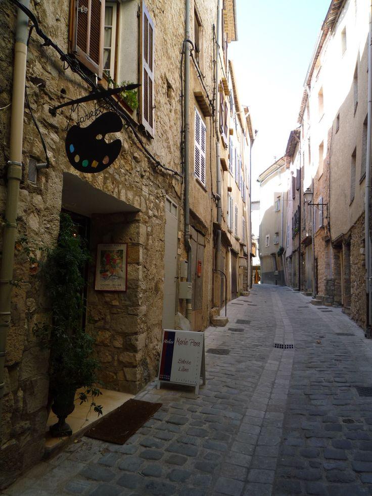 Rue de la Prison, Bargemon, Var.