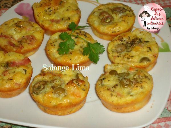 Muffins de omelete - Espaço das delícias culinárias