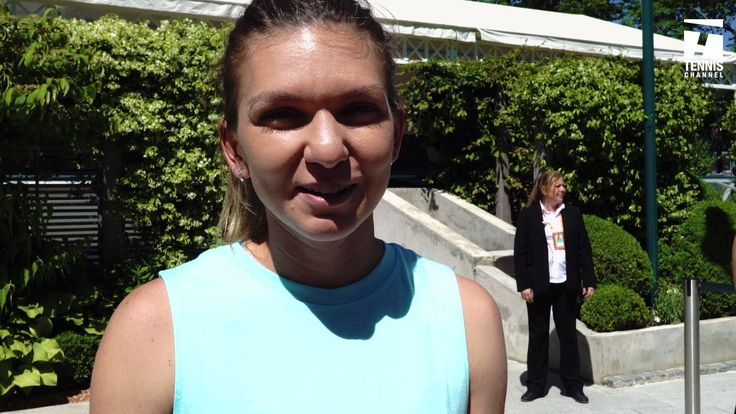 #HeyClay, you've been pretty good to Simona Halep so far #RG17   WATCH Simona Halep v Elina Svitolina LIVE now on Tennis Channel Plus! (Lenglen) BuyTCPlus.om