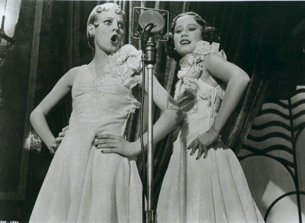 Perhaps bridesmaid dresses to mimic Bugsy Malone costumes