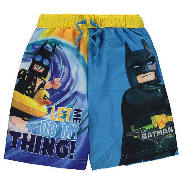 24c94fa084 Boys Lego Batman Swim Shorts | For Gabriel | Kids shorts, Swim shorts, Lego  batman