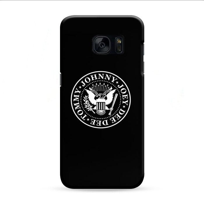 Ramones Logo Samsung Galaxy S7 Edge 3D Case