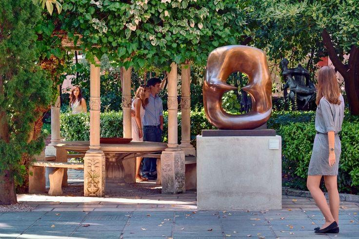 Nasher Sculpture Garden, green heart of the PGC