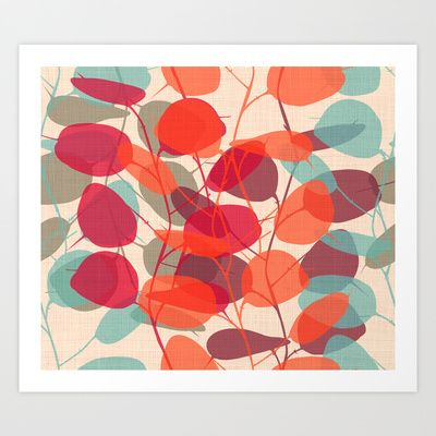 LUNARIA Art Print by Chicca Besso - $12.48