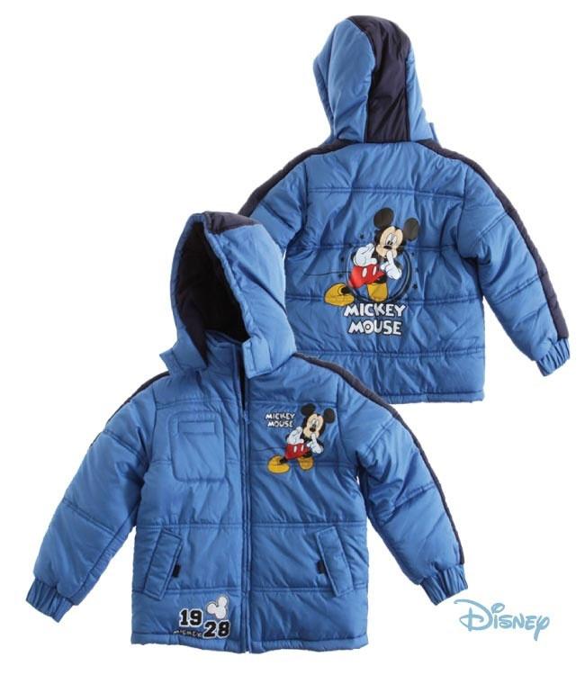 disney mickey doudoune enfant garcon bleu manteau blouson. Black Bedroom Furniture Sets. Home Design Ideas