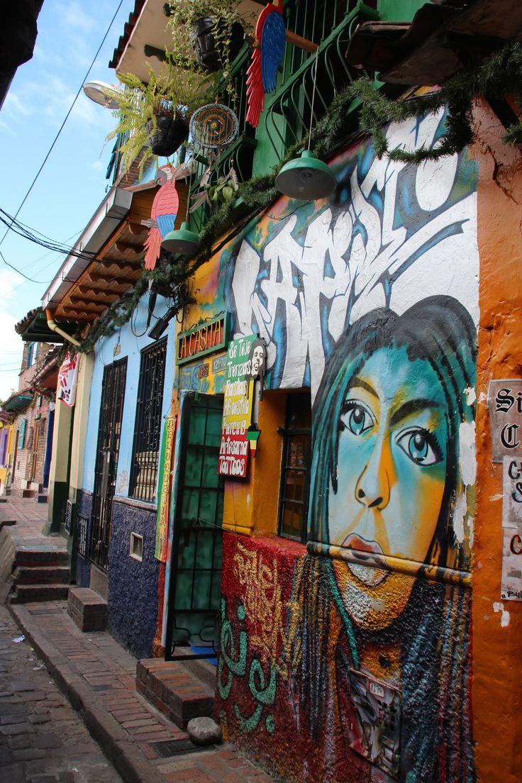 Street art in Candelaria