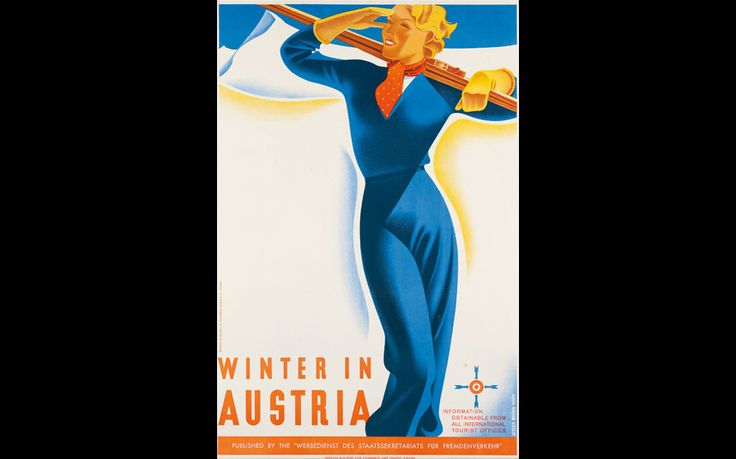 We take a sneak peak at the best vintage posters from Christie's annual Ski   Sale