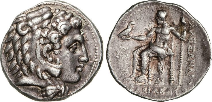 NumisBids: Numismatica Varesi s.a.s. Auction 65, Lot 33 : MACEDONIA - ALESSANDRO III MAGNO (336-323 a.C.) Tetradramma. D/...