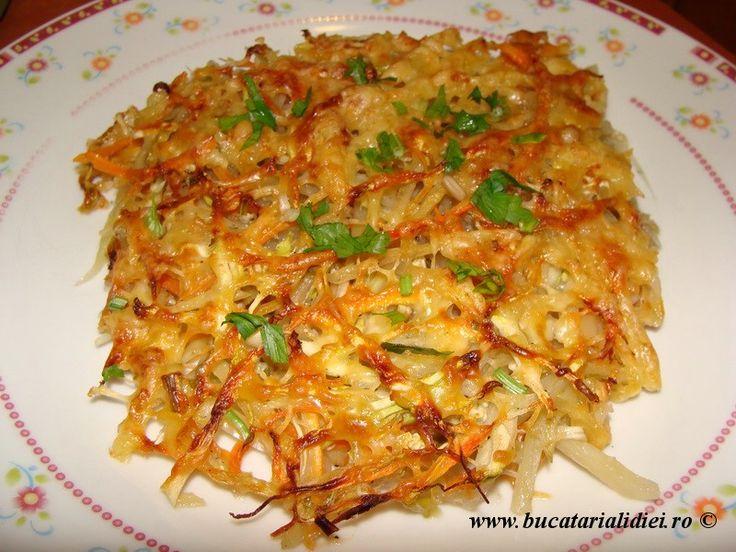 Gratin de legume http://www.bucatarialidiei.ro/