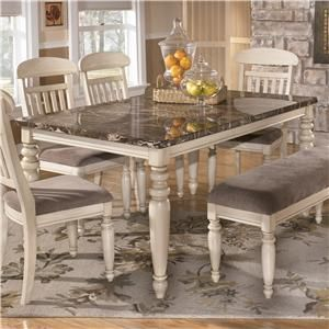 Manadell Dining Room Table By Signature Design By Ashley( Need To Get A  Bench Like This To Match My Table)