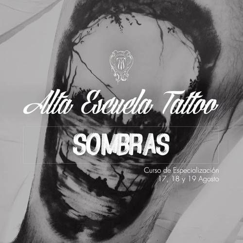 Curso de tatuaje en Alta Escuela Tattoo Málaga : Que no te asusten las sombras... nosotros te acompañamos a las tinieblas con un nuevo Curso de Especialización. Todas las experiencias fueron primero oportunidades.   Si quieres más información, estamos en altaescuelatattoo@hotmail.com o puedes llamarnos al 607 50 66 90. Échale un ojo a nuestro perfil de Instagram: alta_escuela_tattoo para ver nuestro trabajo.   Si buscas más técnica somos tu