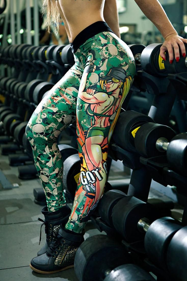 ". LOOK no further if you're a strong, powerful woman and want to look unique in these  ""I Got Guns"" DYNAMITE Leggings that are high quality, non fading with UV protection and 100% exclusive print to DYNAMITE sold in Australia only by Gym And Fitness Fashion. . FREE Express Postage Available🚀  AFTERPAY- Buy Now Pay Later Available.  . SHOP ⬆️⬇️  www.gymandfitnessfashion.com.au"