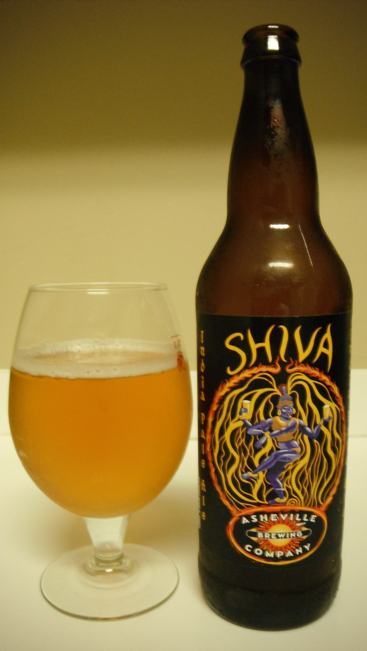 asheville brewing company shiva pale ale  Not a bad one either