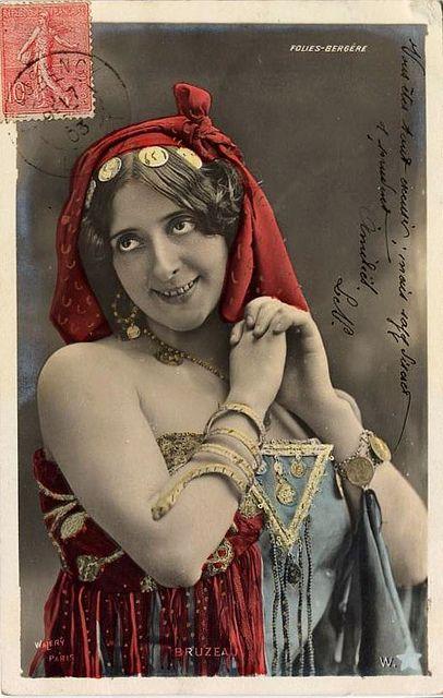 Vintage Gypsy Postcard Red Sash  by PT1985, via Flickr: Vintage Postcards, Gypsy Awesome, Vintage Gypsy, Gypsy Postcards, Gypsy Caravan, Vintage Prints, Gypsy Heart, Gypsy Girls, Photo