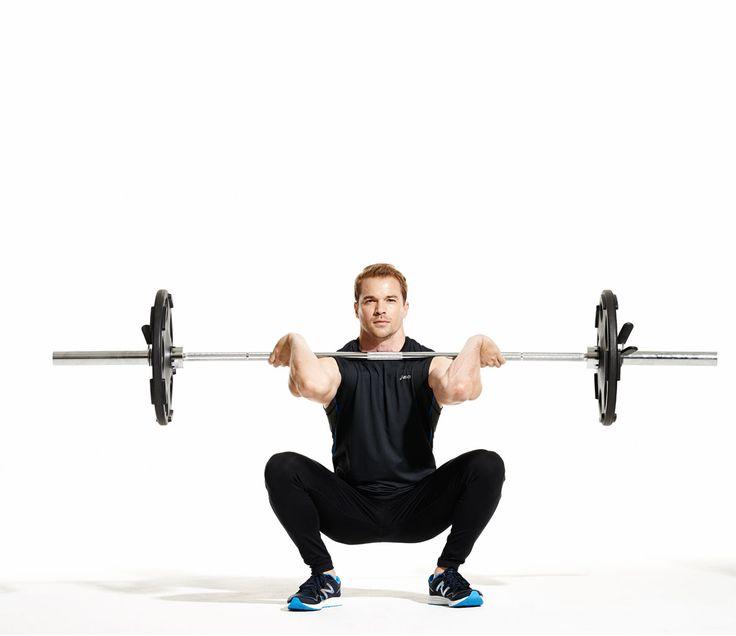 Exercise Face-Off: Front Squat vs. Back Squat | Men's Fitness
