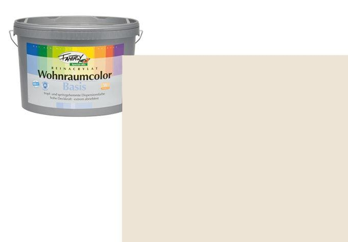 Wandfarbe FANTASY Wohnraumcolor Kalahari 5A matt/seidenglänzend