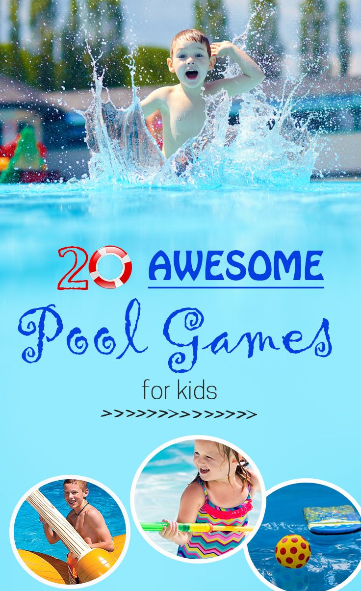 25 unique pool games kids ideas on pinterest pool party - Swimming pool activities for kids ...