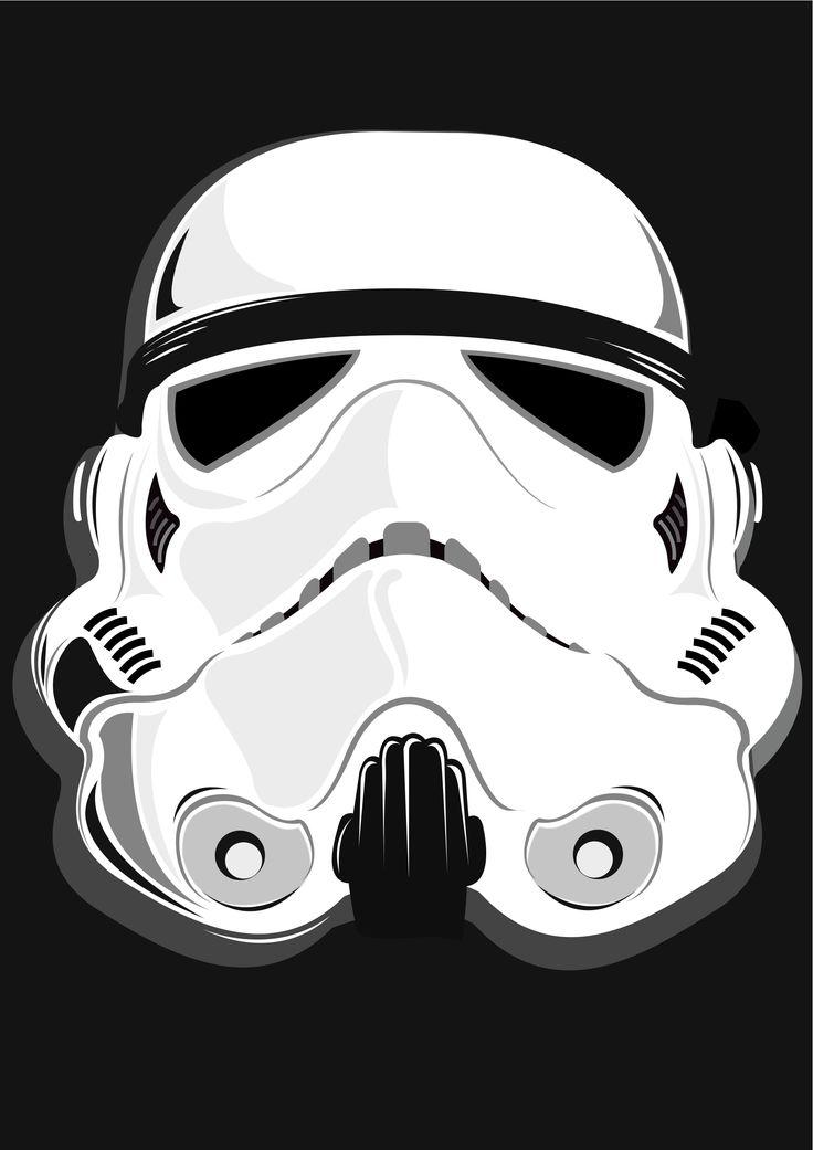 stormtrooper drawing Google Search Cartel de guerra de