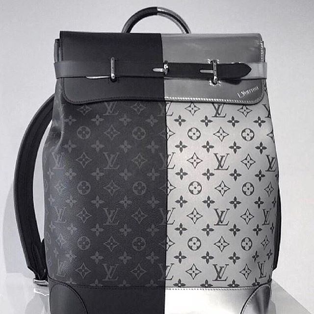 Steamer <b>backpack</b> in split monogram from @louisvuitton men's ...