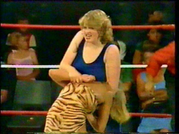 Wrestler Busty Keegan 86