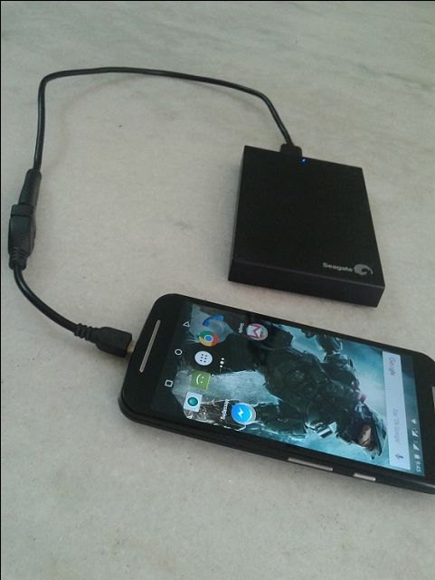 smartphone harddisk