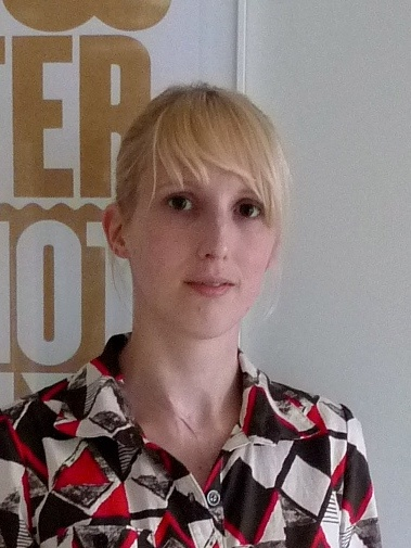 Kathryn, our community manager.  She has a background in social media and marketing in the design and fashion industries.