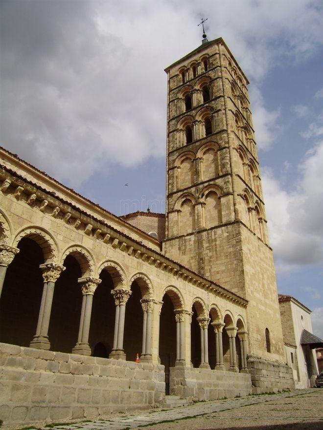 Iglesia de San Esteban de Segovia.