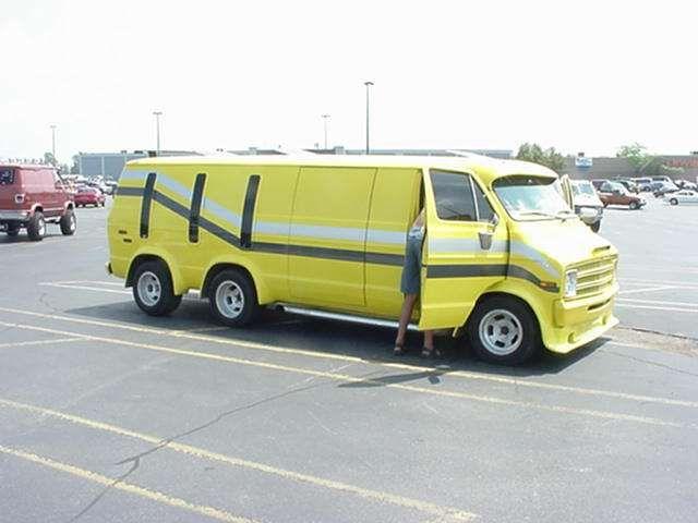 Stretch Limo Van DodgeVan CustomVan VanGo